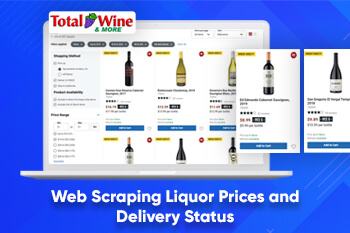 Web Scraping Liquor Prices and Delivery Status